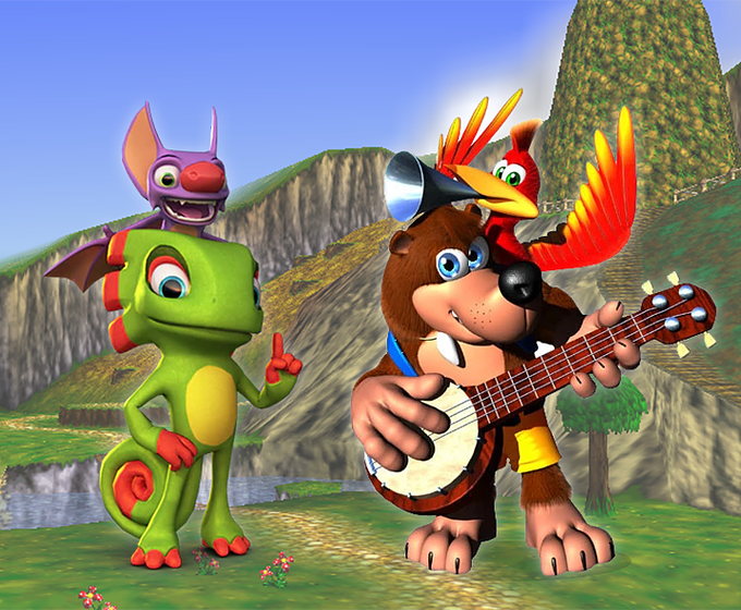 Revisiting Platformers and Banjo Kazooie